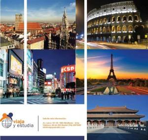 Estudiar en Francia o Italia o Australia