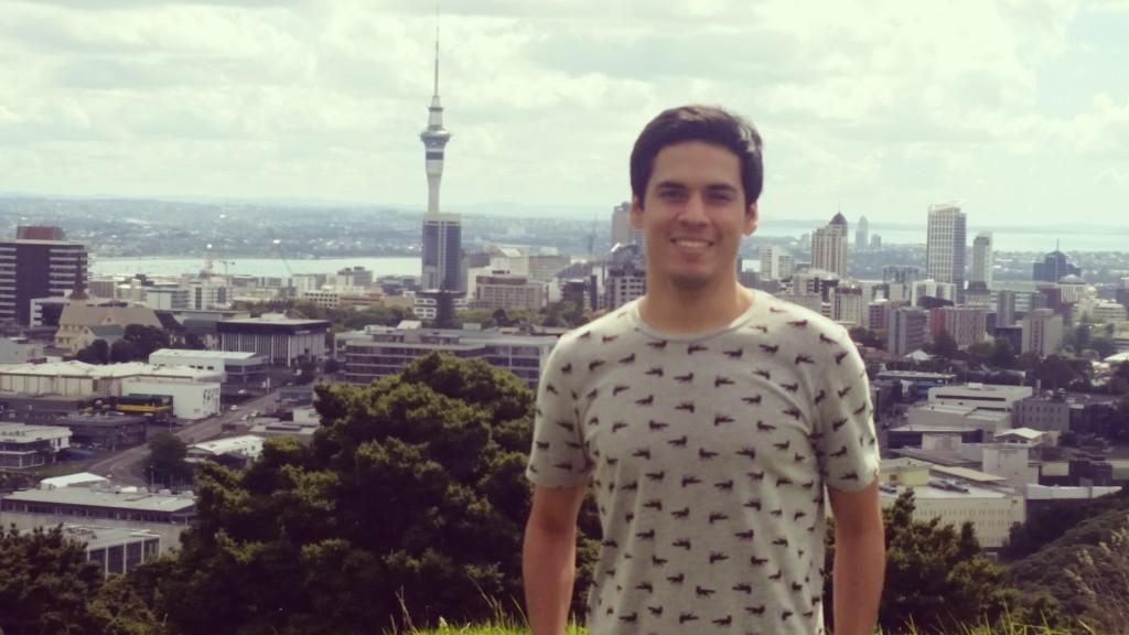 Alfredo Perez en Nueva Zelanda