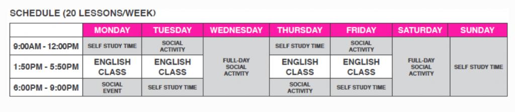 ilac junior schedule
