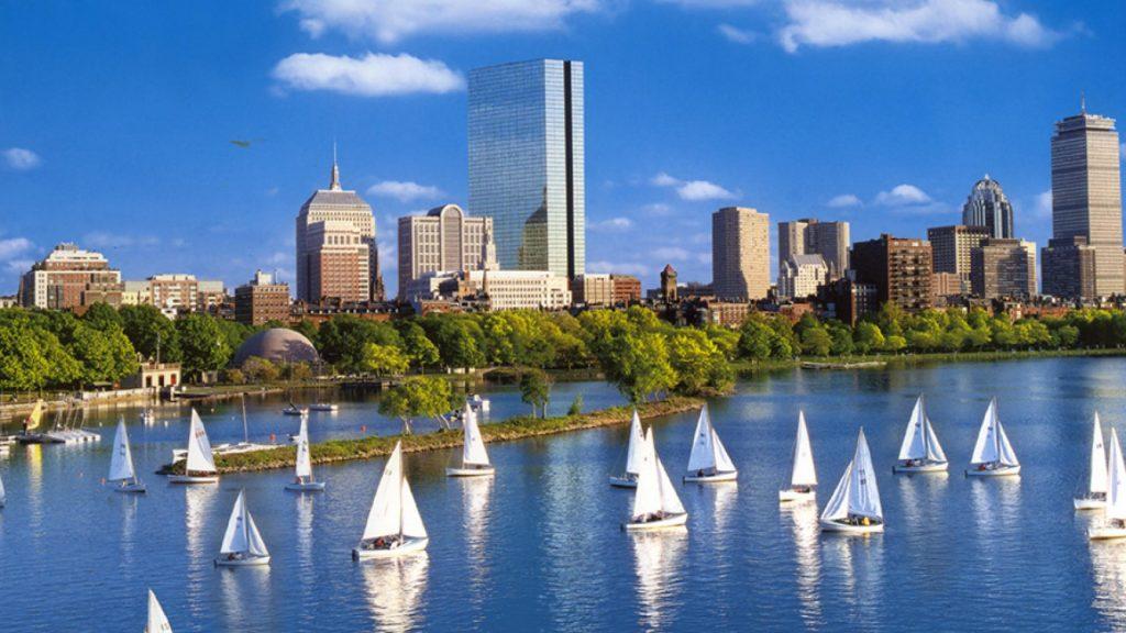 boston-white-sailboats-3840x2160-hd