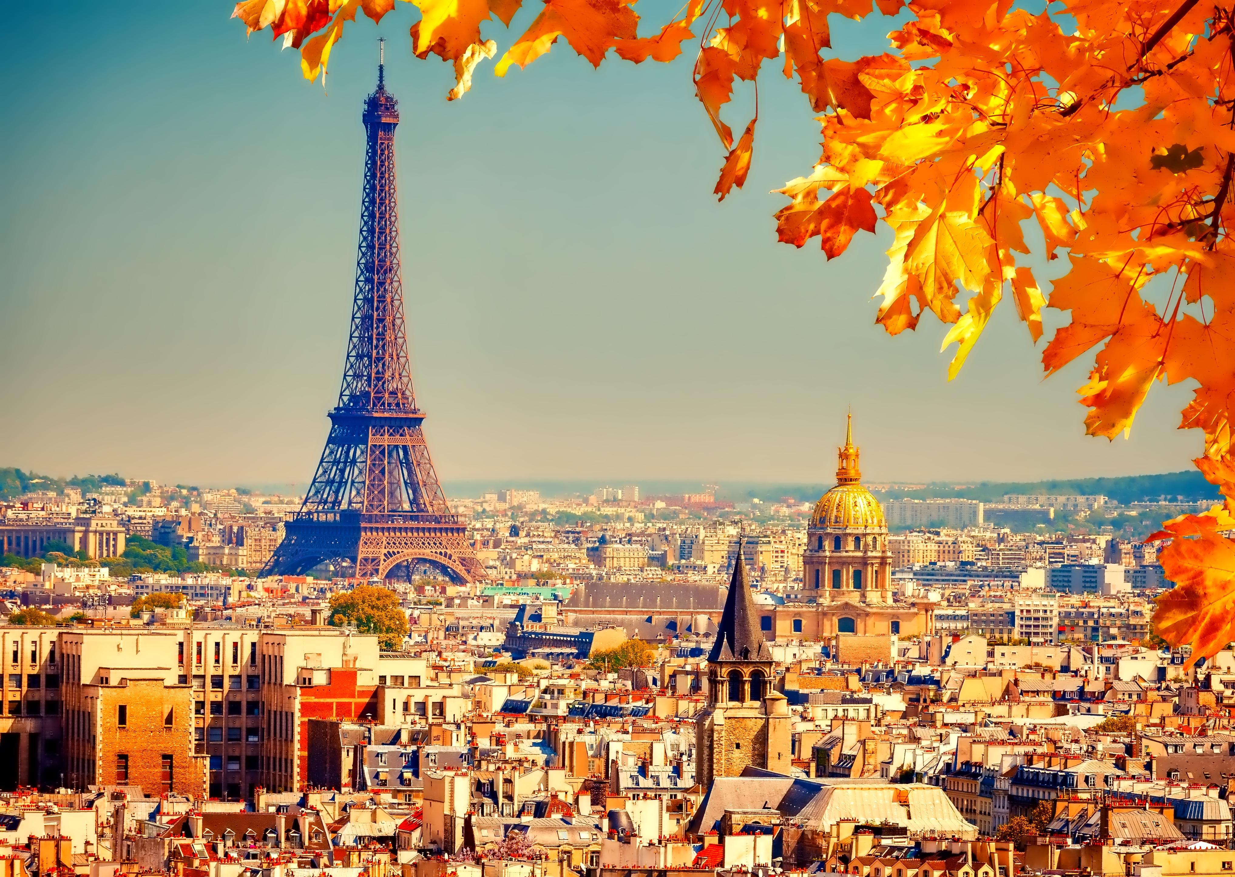 Tour Eiffel otoño